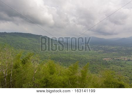 Mountain in Nakhon Ratchasima Province of Thailand