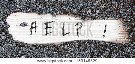 Sand On Planked Wood - Help