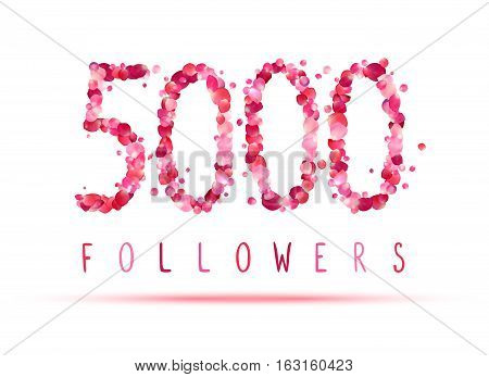 5000 (five Thousand) Followers