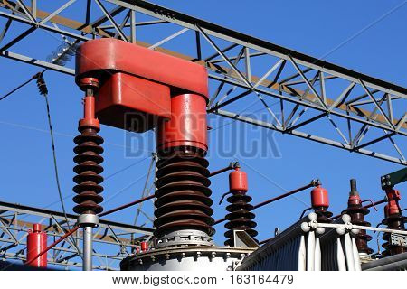 Red Electrical Component In A Power Plant To Automatically Vary