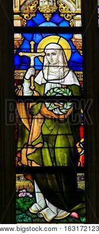 Stained Glass - Saint Vinciana