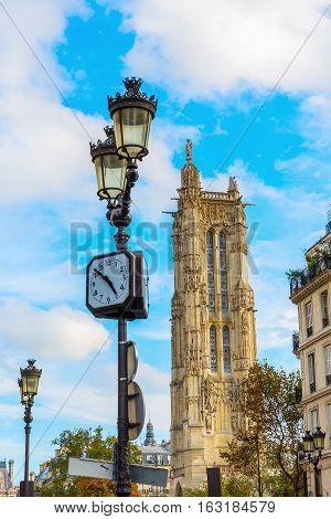 Tour Saint Jacques In Paris