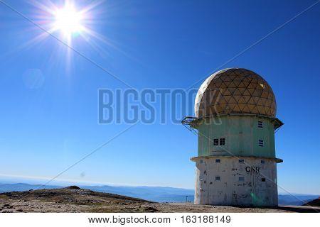 Old GNR Tower, Torre, Serra da Estrela, Portugal
