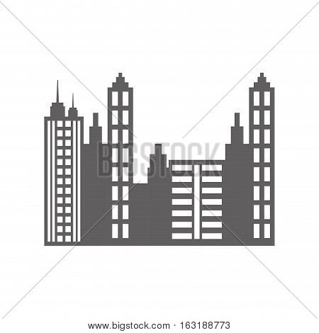 City urban view icon vector illustration graphic design