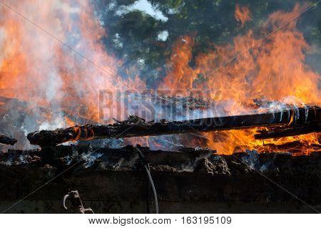 Building Fire