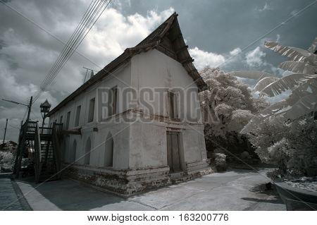 public location Ayuttaya privice in Thailand, taken in near infrared