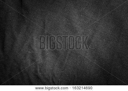 Texture Of Linen Material In Close Up