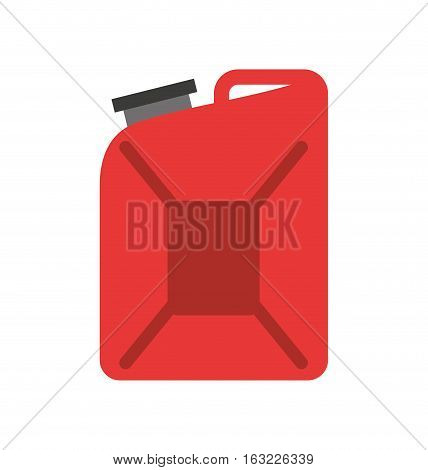 gallon tank isolated icon vector illustration design