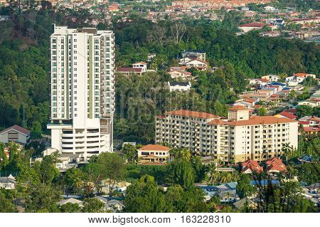 Residential apartment & condominium at Kota Kinabalu,Sabah,Borneo.Sabah is one of the Malaysia most expensive residential property markets.