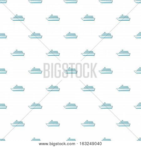 Passenger vehicle pattern. Cartoon illustration of passenger vehicle vector pattern for web