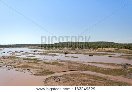 The Olifatnts River in the Kruger National Park, South Africa