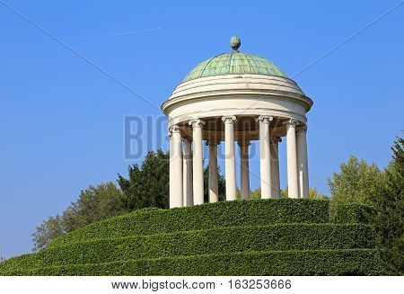 Dome Over The Hill And The Blue Sky