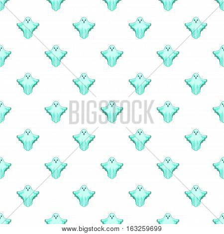 Ghost pattern. Cartoon illustration of ghost vector pattern for web