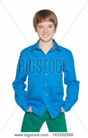 Fashion Preteen Boy