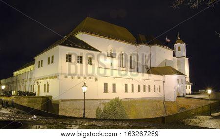 Brno city - Spilberk castle Central Europe - Czech Republic.