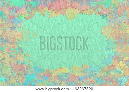 Vivid  closeup texture background with  pink, green and different  vivid  vibrant colorful creative patterns