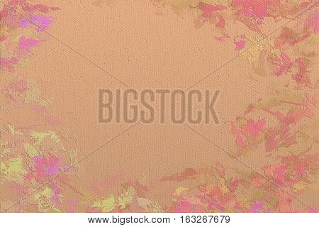 Vivid  painting closeup texture background with  different  vivid  vibrant colorful creative patterns
