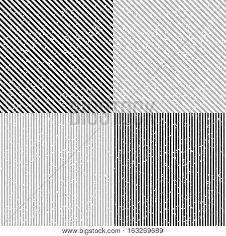 Set grunge stripe. Grunge stripe background. Grunge stripe pattern