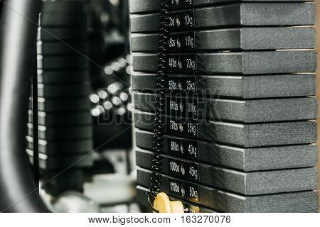 Black Metallic Or Iron Plates