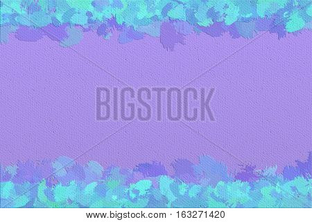Vivid  painting closeup texture background with  blue and different  vivid  vibrant colorful creative patterns
