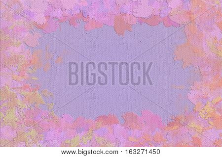 Vivid  painting closeup texture background with  pink, purple and different  vivid  vibrant colorful creative patterns