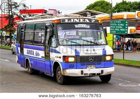 Small City Bus Inrecar