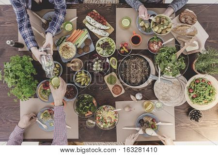 Various Veg Dishes
