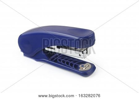 A stapler isolated on a Pink background