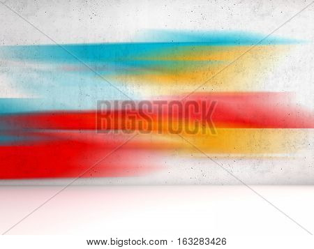 Abstract 3D Interior Background