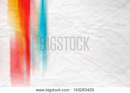 Blurred Colorful Pattern, Crumped Paper