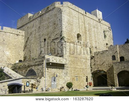 Old Crusader Fortress In Akko