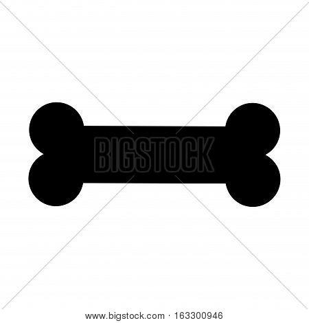 bone toy mascot isolated icon vector illustration design