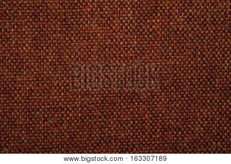 fabric texture red and brown gobelin for background