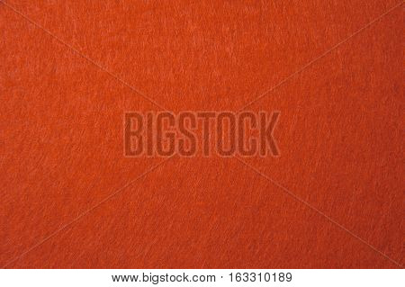 orange felt texture - - for background
