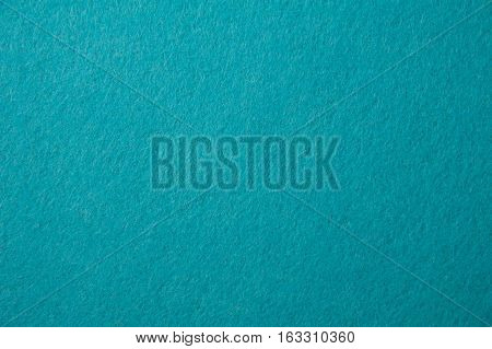 blue felt texture for background or for pool table.