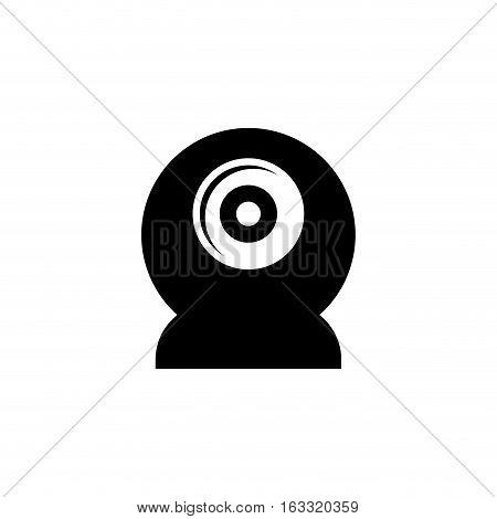 Webcam chat device icon vector illustration graphic design
