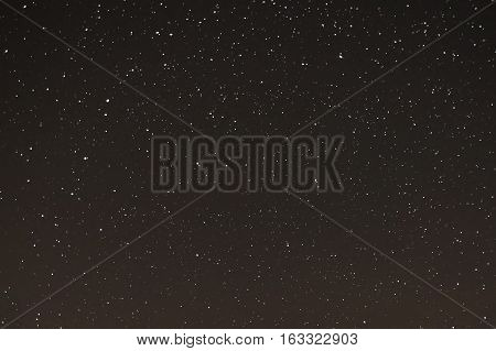 starry sky the stars in the night sky the stars on a dark background
