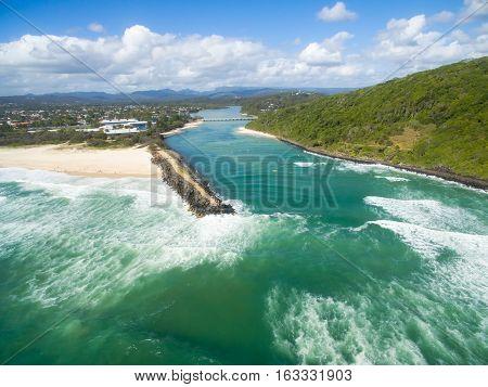 Tallebudgera Creek on the Gold Coast, Queensland, Australia
