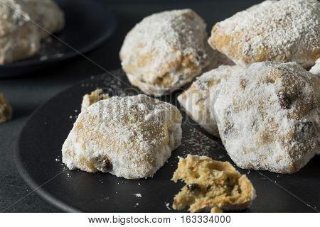 Homemade Christmas Stollen Cake Bites