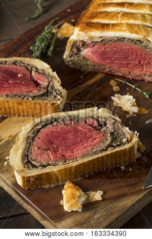 Homemade Christmas Beef Wellington