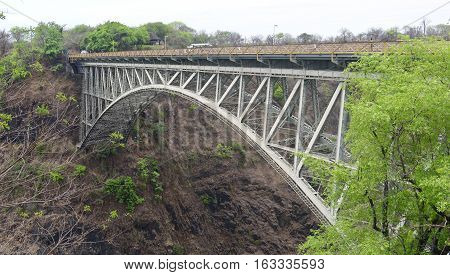 image of Bridge at the Victoria Falls