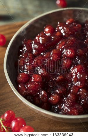 Homemade Organic Red Currant Jam