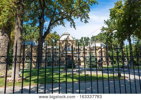 Prince Nicholas Romanov Palace In Tashkent, Uzbekistan.