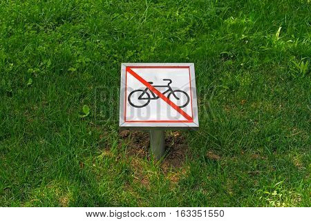 The prohibitive sign