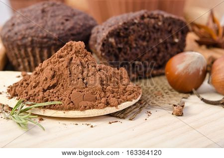 Spicery And Chocolate Muffin