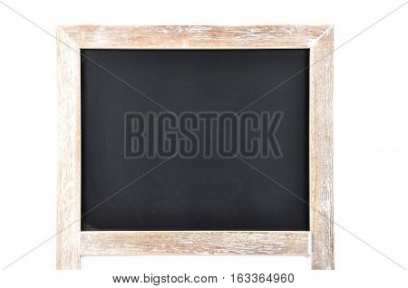 Colorful and crisp image of black board on white background