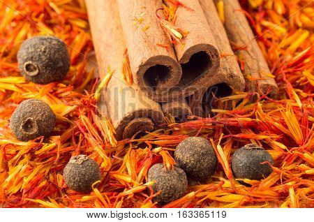 Spices And Herbs Close-up
