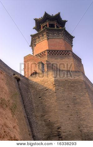 Gate Tower In China