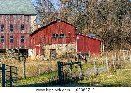 Rural Pennsylvania Barn