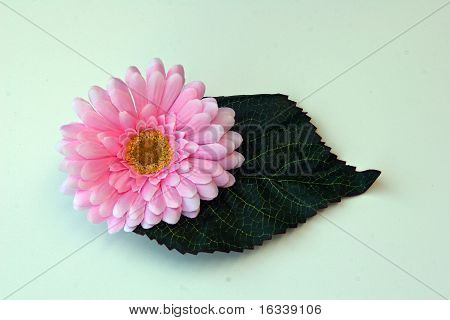Artificial Flower and Leaf